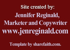 Created by Jennifer Reginald